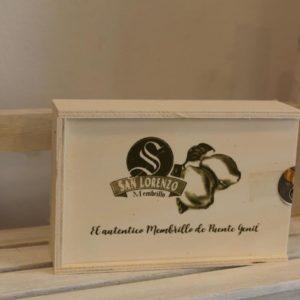 El Granero de la Abuela | Tienda online gourmet en Priego de Córdoba | Crema de Membrillo en caja de madera