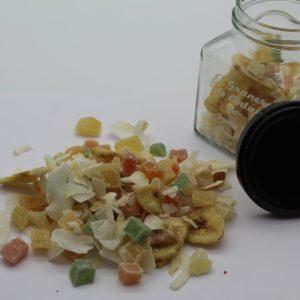 El Granero de la Abuela | Tienda online gourmet en Priego de Córdoba | Mix Frutas Tropical Deshidratada