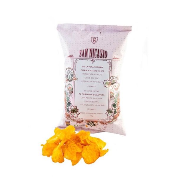 El Granero de la Abuela | Tienda online gourmet en Priego de Córdoba | PATATAS SAN NICASIO AL PIMENTÓN DE LA VERA. 150GRS.