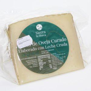 El Granero de la Abuela | Tienda online gourmet en Priego de Córdoba | Queso de Oveja con Leche Cruda Curado