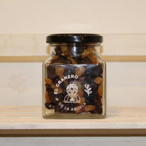 El Granero de la Abuela | Tienda online gourmet en Priego de Córdoba | Tarro de Mix de Fruta del Bosque Deshidratada