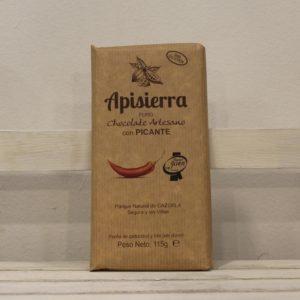 El Granero de la Abuela | Tienda online gourmet en Priego de Córdoba | Chocolate artesano con picante. 70% pureza