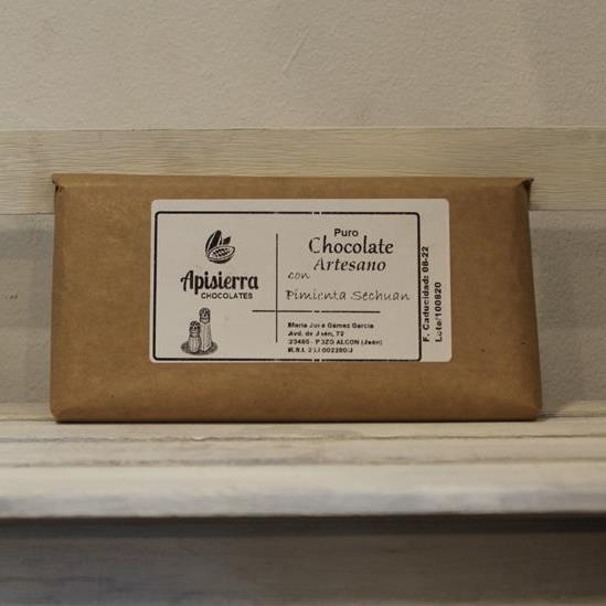 El Granero de la Abuela | Tienda online gourmet en Priego de Córdoba | Chocolate artesano con pimienta sechuan.
