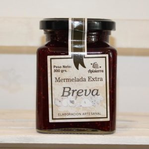 El Granero de la Abuela | Tienda online gourmet en Priego de Córdoba | Mermelada Artesana de Breva. 300 Grs