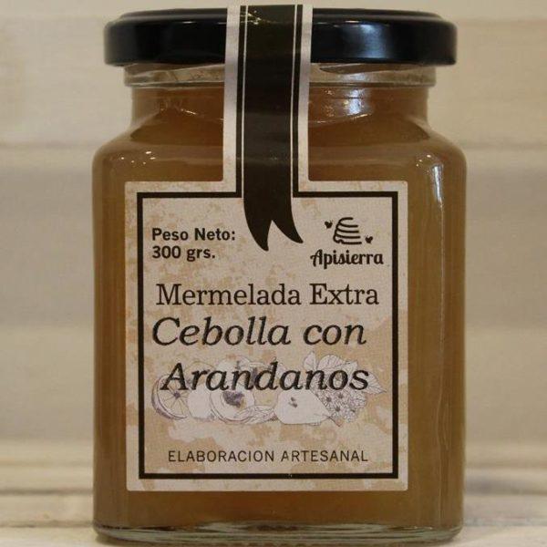 El Granero de la Abuela | Tienda online gourmet en Priego de Córdoba | Mermelada Artesana de Cebolla con Arándanos. 300 Grs